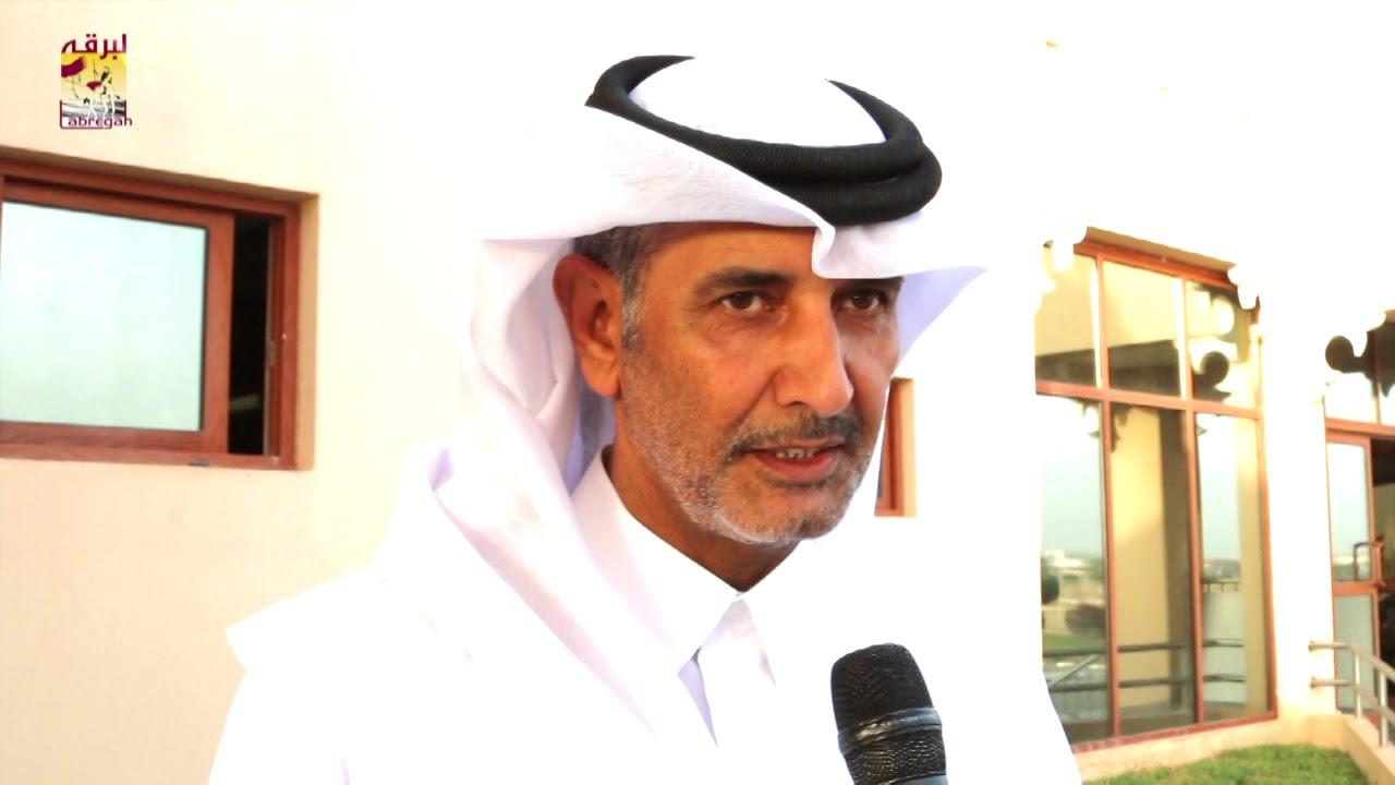 لقاء مع عبدالله بن محمد الكواري نائب رئيس اللجنة المنظمة لسباق الهجن بختام مهرجان تحدي قطر ١٠ ٥ ٢٠