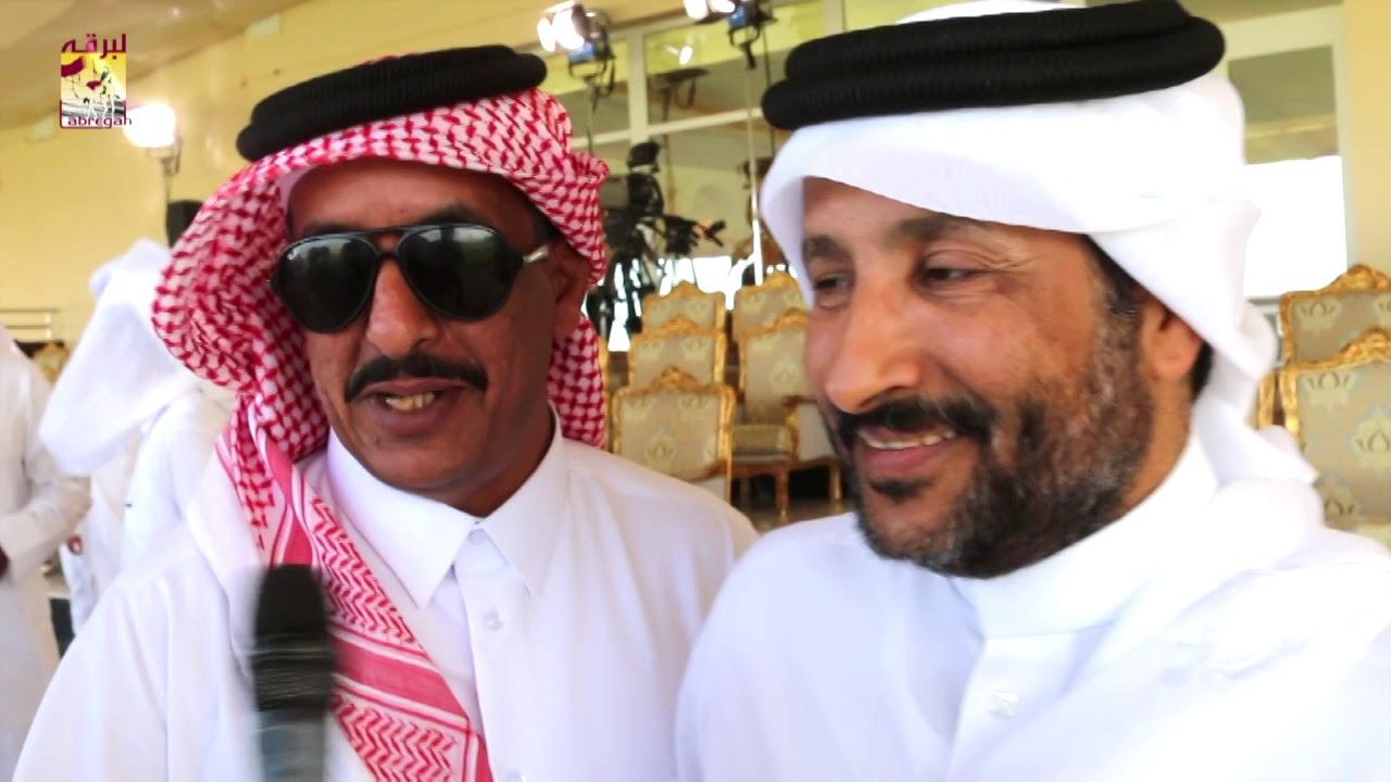 لقاء مع منصور بن عبدالله الكعبي الفائز بالشلفة الفضية للثنايا بكار بمهرجان تحدي قطر ٢٥-٤-٢٠١٩