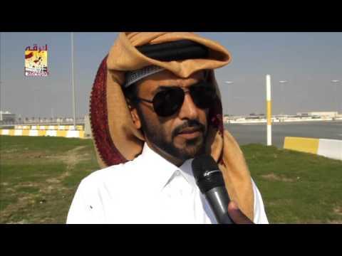 """لقاء مع المضمر محمد جابر جوير متحدثاً عن فوز """"برلمان"""" بالشوط الرئيسي للحيل المحلي الثامن  ١٦-١-٢٠١٦"""
