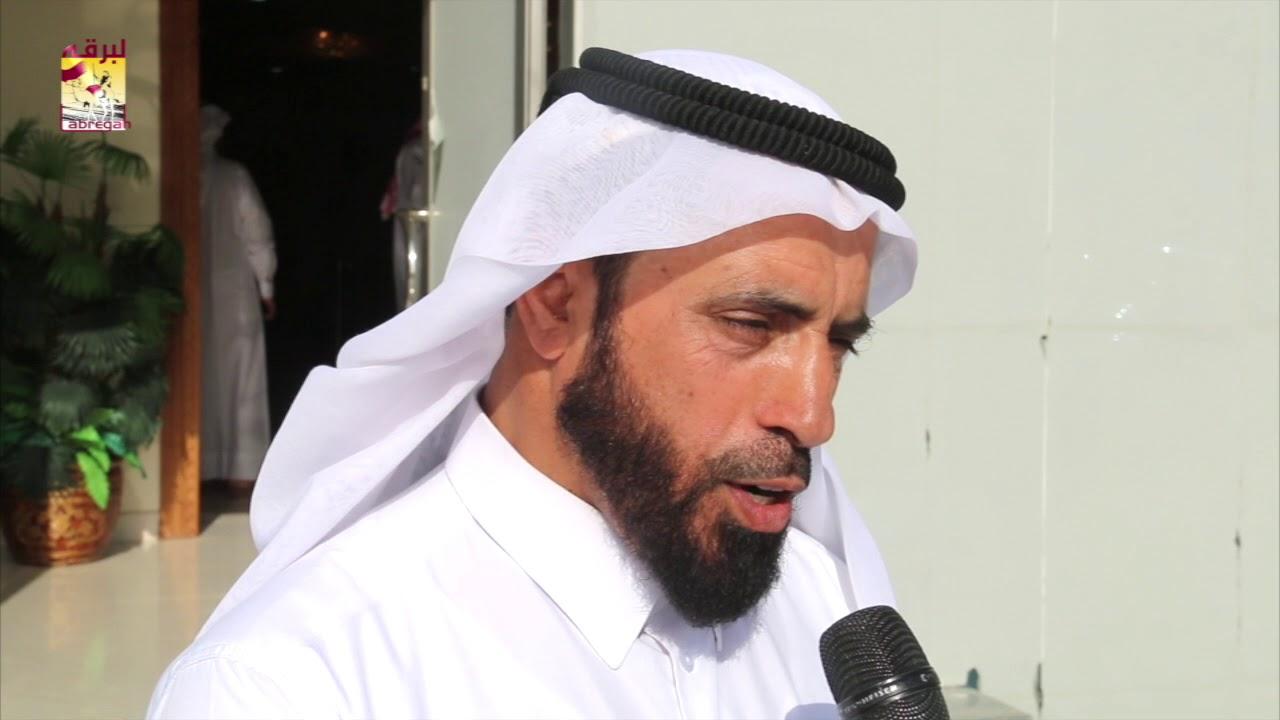 لقاء مع صالح حمد أبو شريدة متحدثاً عن الفوز بالخنجر الفضي للقايا قعدان المفتوح مهرجان سمو الأمير الوالد ٦-٣-٢٠١٨