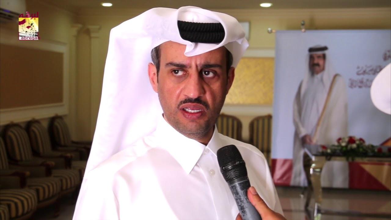 لقاء مع حمد غانم سلطان الهديفي متحدثاً عن الفوز بالشلفة الفضية للقايا بكار عمانيات مهرجان سمو الأمير الوالد ٦-٣-٢٠١٨