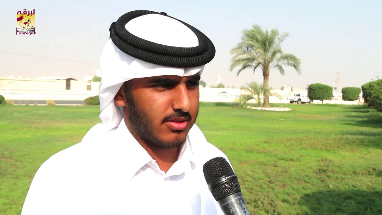 لقاء مع مبارك بن ناصر الشهواني متحدثاً عن الفوز بالشوط الرئيسي للقايا بكار إنتاج المحلي الأول ١١-٩-٢٠١٨