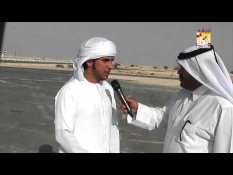لقاء مع المضمر حمود بن محمد الوهيبي الفائز بالأشوط الرئيسية للجذاع – المحلي الثاني صباح ٢٨-٩-٢٠١٥