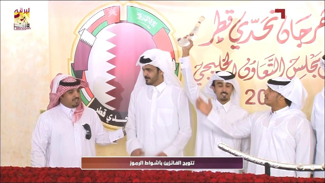 لقاء مع راشد علي بن جهيم الفائز بالخنجر الفضي للجذاع قعدان مهرجان تحدي قطر ١٠ ٥ ٢٠١٨