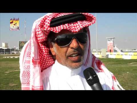 """لقاء مع المضمر حمد مبارك الشهواني متحدثاً عن فوز """"شمشون"""" بالشوط الرئيسي للزمول المحلي الثامن  ١٦-١-٢٠١٦"""