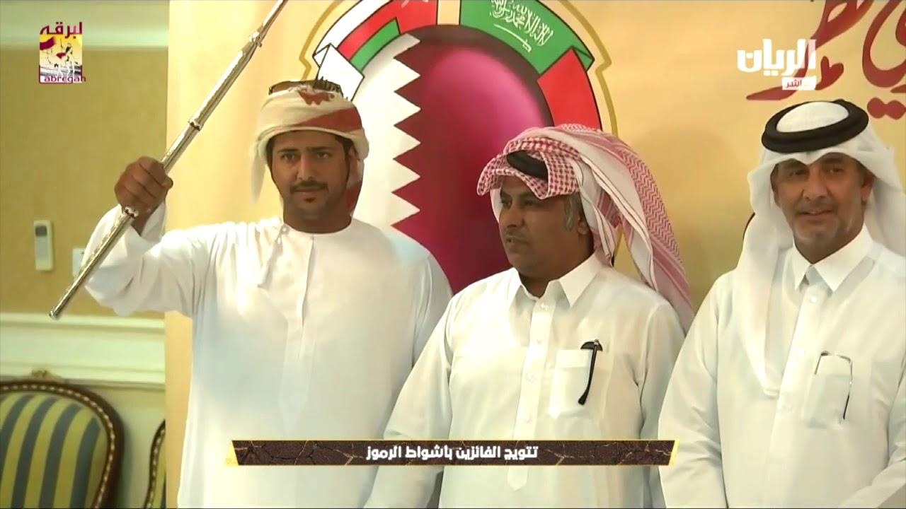 لقاء مع عبدالله بن سالم بن شعيل الشلفة الفضية للحقايق بكار بمهرجان تحدي قطر ٢٥-٤-٢٠١٩