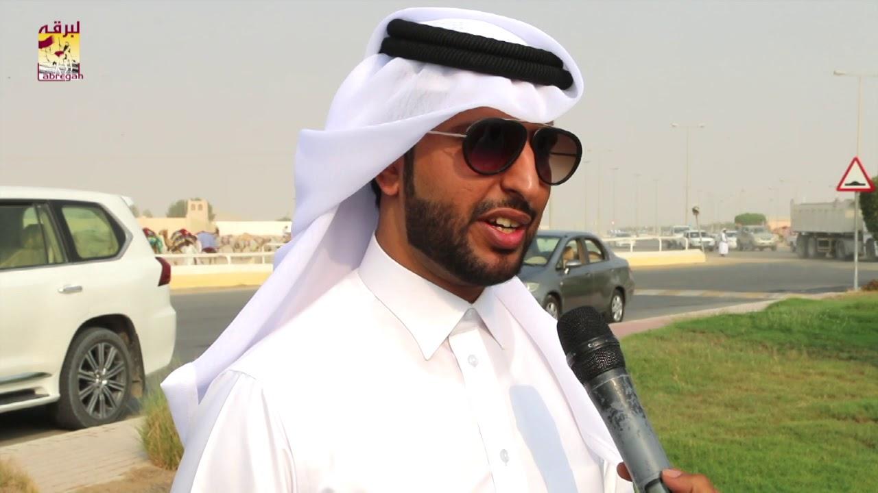 لقاء مع فهد بن عبدالهادي بن ذروة الشوط الرئيسي للثنايا قعدان إنتاج المحلي الثالث صباح ١٨-١٠-٢٠١٨