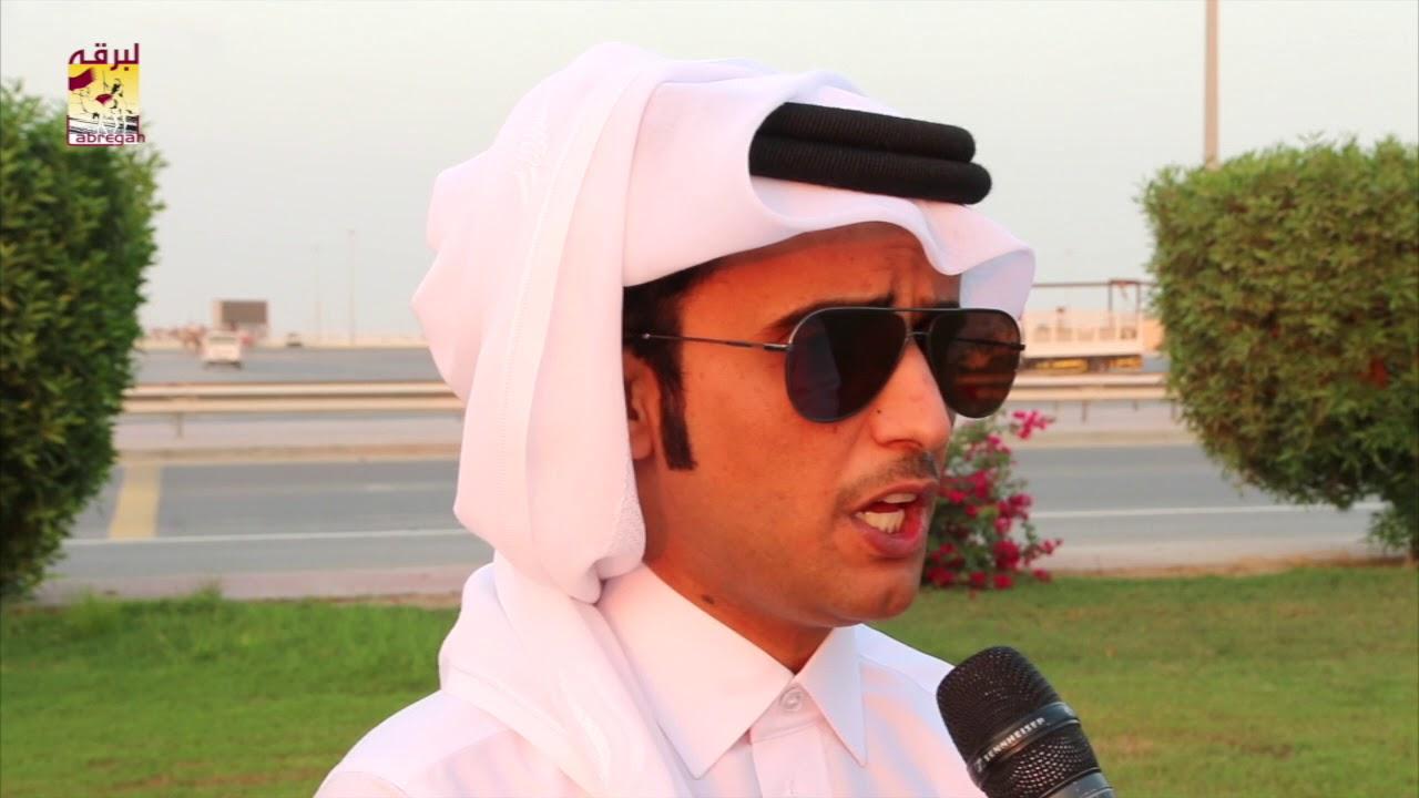 لقاء مع المضمر سعود بن سلعان المري الفائز بشوط الزمول في الأشواط المفتوحة المحلي الرابع مساء ٤-١١-٢٠١٧