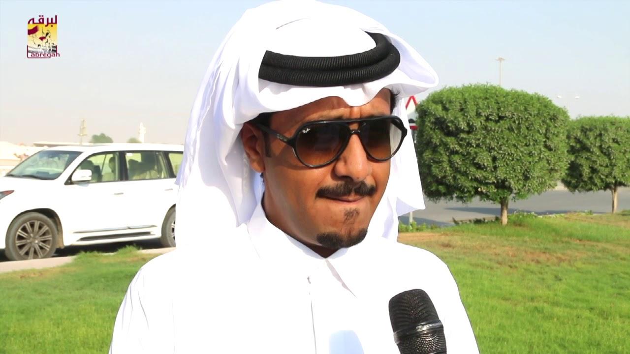 لقاء مع عبدالعزيز بن عويضة البوعينين  متحدثاً عن الفوز بالشوط الرئيسي للجذاع قعدان ٢٧-٩-٢٠١٨
