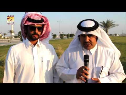 لقاء مع جابر سالم فاران المري – مضمر هجن الشحانية الفائزة بالشوط الرئيسي للحيل بمهرجان المؤسس ٢٨-١٢-٢٠١٥