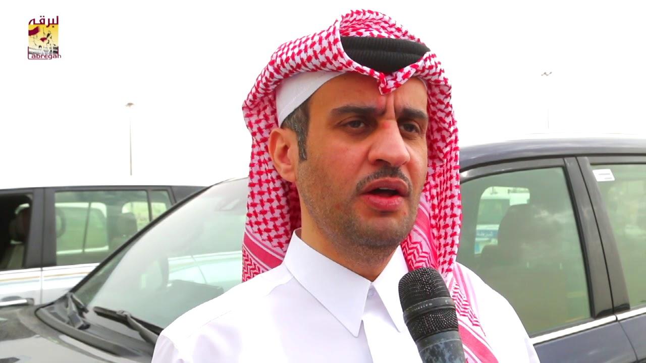 لقاء مع حمد غانم سلطان الهديفي الشلفة الفضية للقايا بكار مفتوح مهرجان سمو الأمير المفدى مساء ٢-٤-٢٠١٩