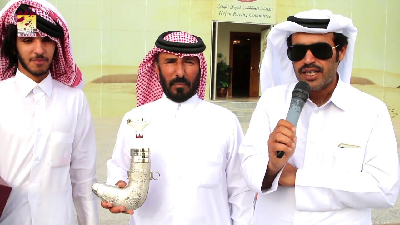 لقاء مع خالد بن سعيد بن يحيى الخنجر الفضي للحقايق قعدان مفتوح مهرجان سمو الأمير المفدى مساء ٣١-٣-٢٠١٩