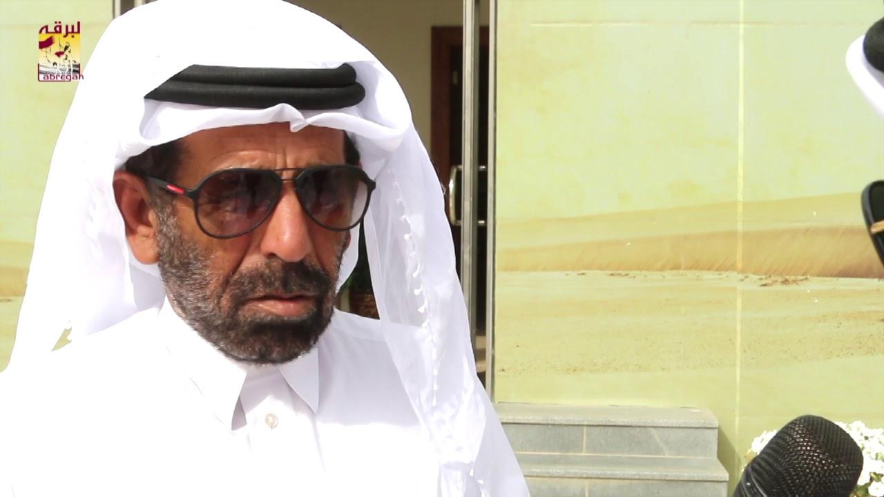 لقاء مع سالم بن فاران المري الفائز مع هجن الشحانية بثلاثة رموز في س الثنايا للأشواط المفتوحة مساء ٧-٤-٢٠١٩