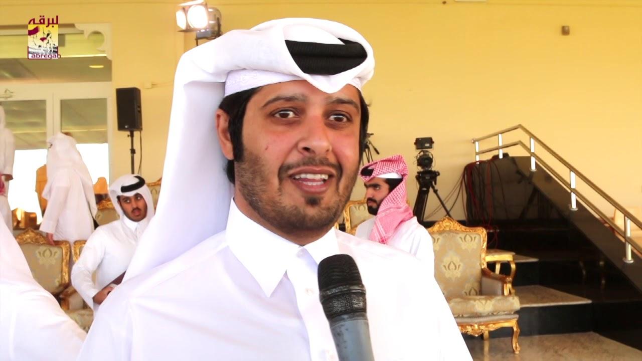 لقاء مع سعد بن عنزان النعيمي الفائز بالخنجر الفضي للجذاع قعدان بمهرجان تحدي قطر ٢٥-٤-٢٠١٩