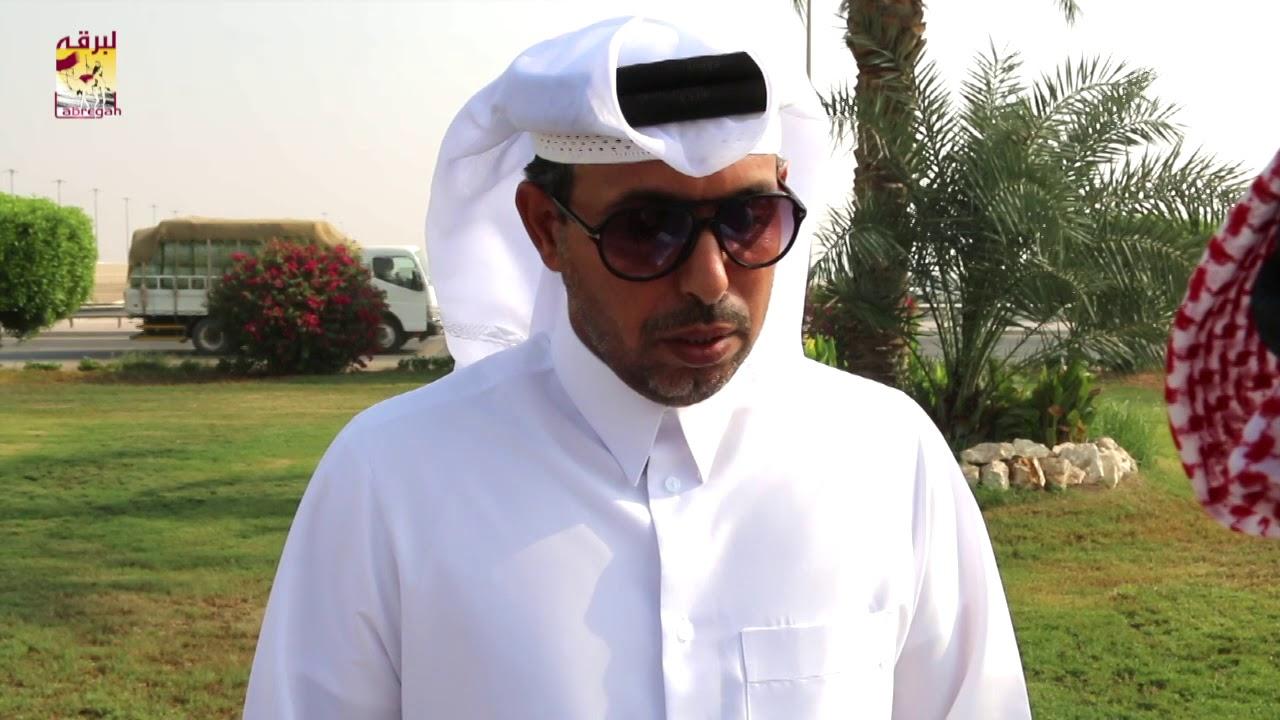 لقاء مع حسين بن علي أبا السيقان الشوط الرئيسي للجذاع قعدان عمانيات صباح ١٢-١٠-٢٠١٩