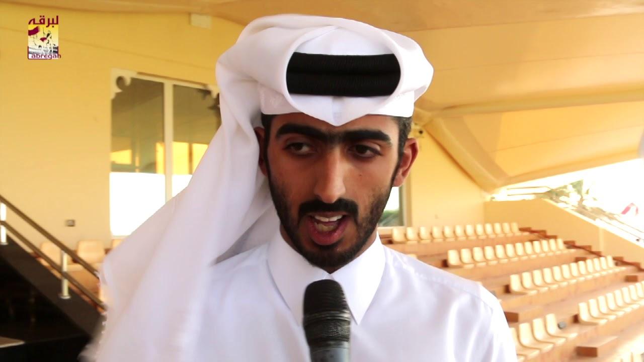 لقاء مع منصور محمد السيف الخيارين الفائز بالخنجر الفضي للثنايا قعدان بمهرجان تحدي قطر ٢٥-٤-٢٠١٩