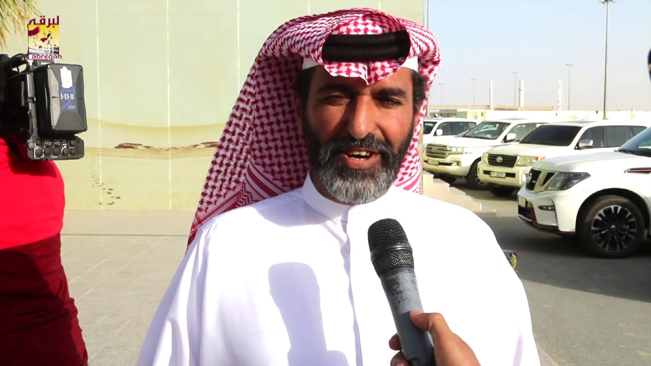 لقاء مع سالم بن جابر بن جبران كأس الثنايا بكار بمهرجان بطولة كأس آسيا ٢٤-٤-٢٠١٩