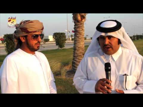 لقاء مع علي بن جميل الوهيبي مضمر هجن الرئاسة الفائزة بالشوط الرئيسي للزمول بمهرجان المؤسس ٢٨-١٢-٢٠١٥