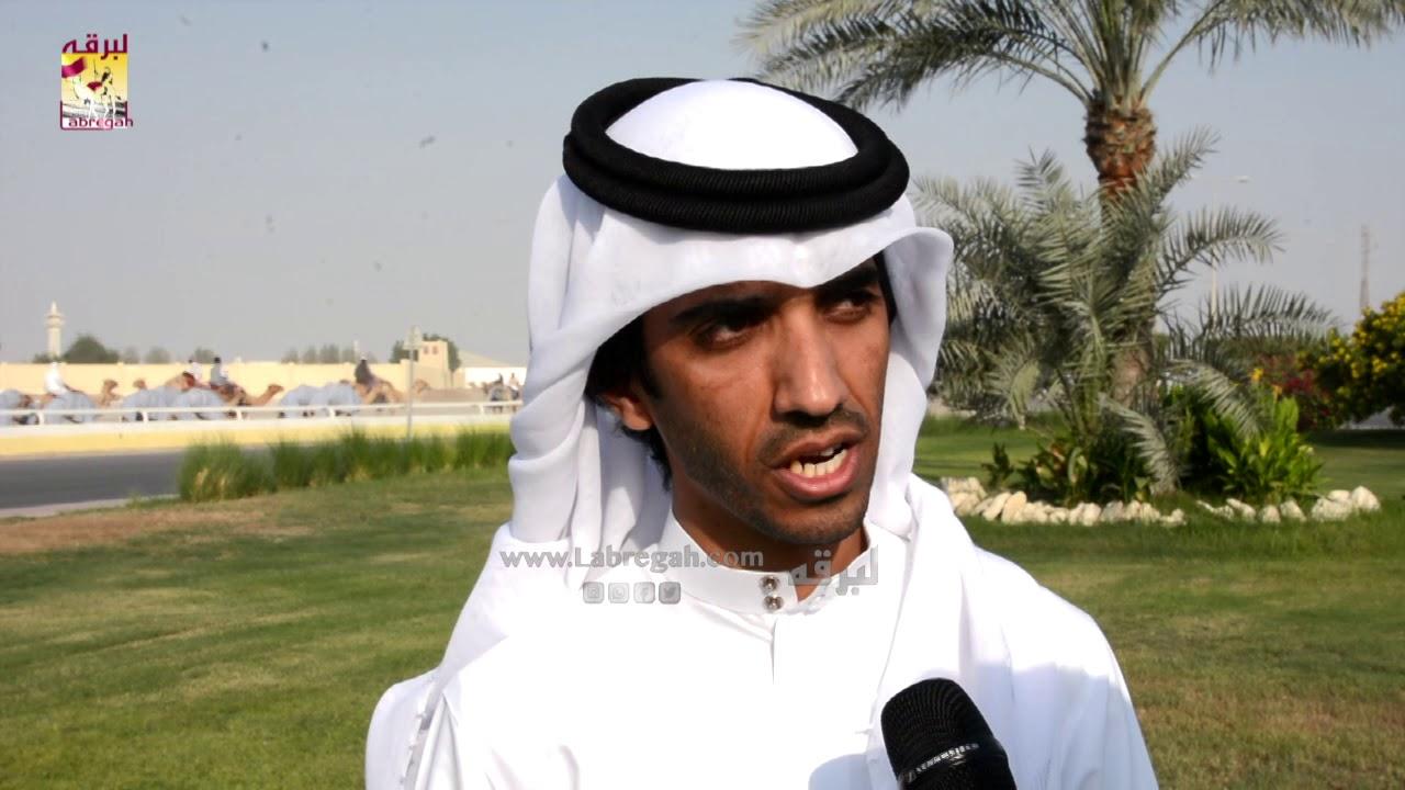 لقاء مع راشد فرج بن درعه الشوط الرئيسي للزمول عمانيات صباح ٢-١١-٢٠١٩