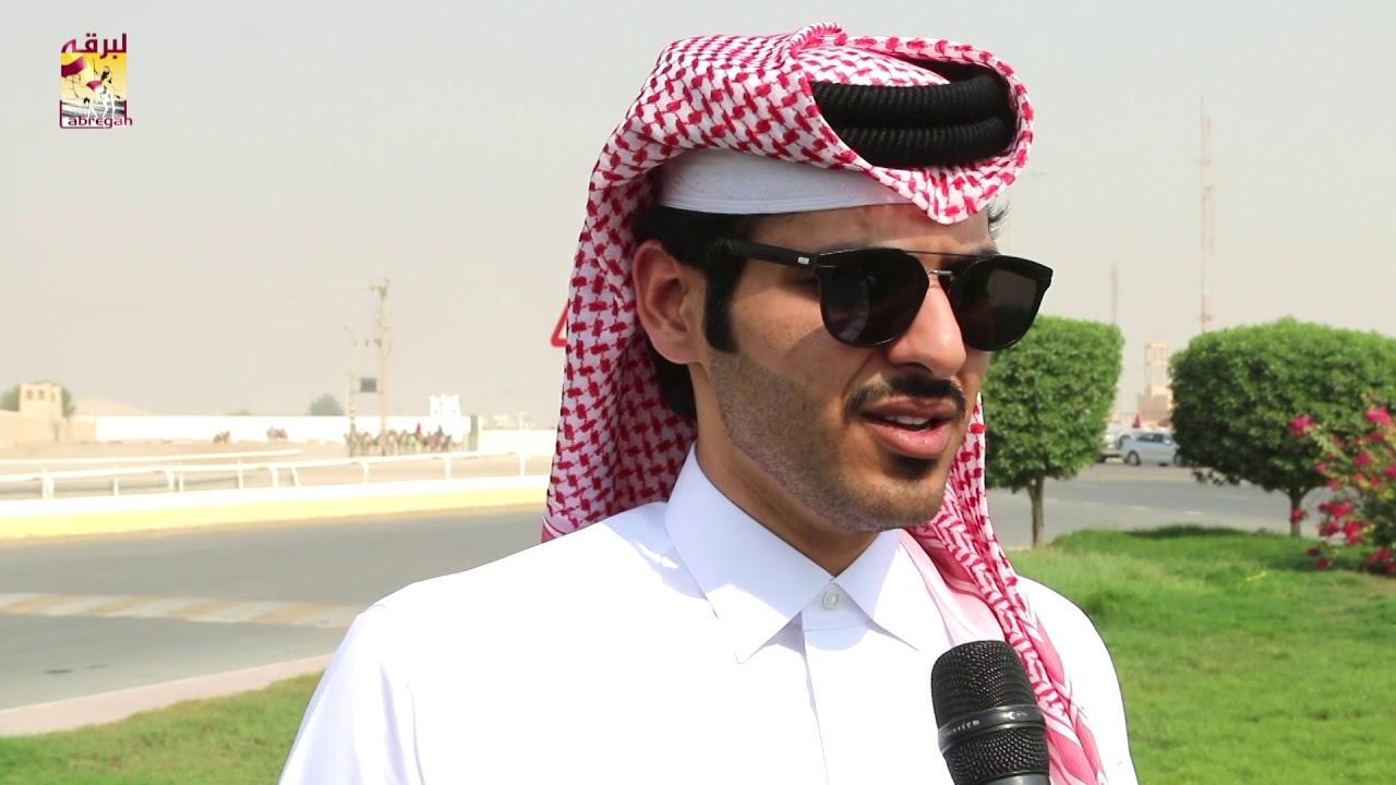 لقاء مع سلطان حمد تريحيب بن نايفة الفائز بالشوط الرئيسي للقايا قعدان المحلي الأول ١٠-٩-٢٠١٨