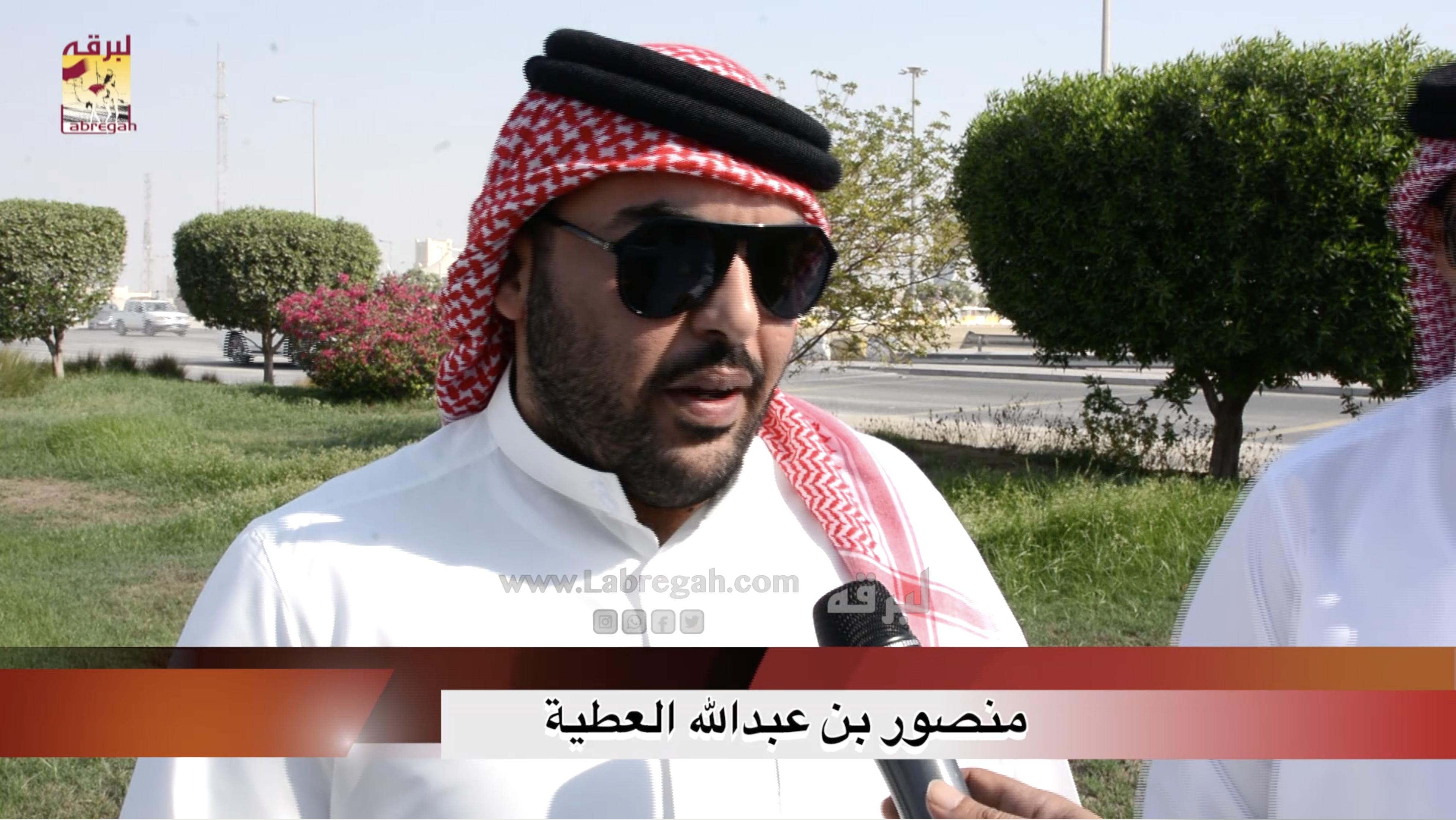 لقاء مع منصور بن عبدالله العطية.. الشوط الرئيسي للجذاع بكار إنتاج صباح ٩-٩-٢٠٢٠